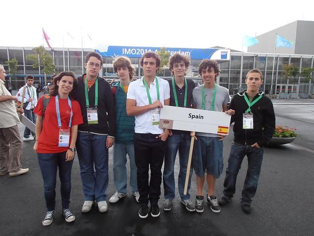 Equipo español de la IMO 2011