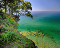 """Michigan's Paradise""  Lake Superior , Pictured Rocks National Lakeshore by Michigan Nut"