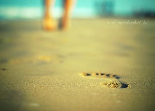 ...Lo importante no son los pies, sino los pasos...