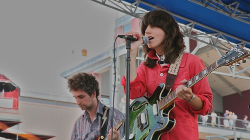 Eleanor Friedberger at 4Knots Music Festival, 2011