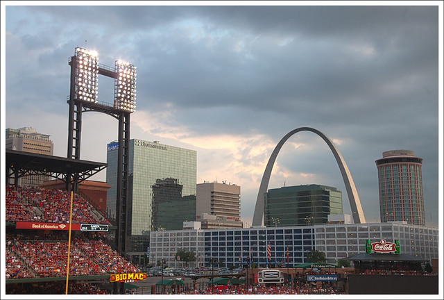Arch From Busch Stadium 2011-07-29 1