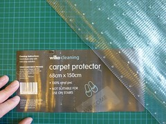 Clear Vinyl Carpet Protector