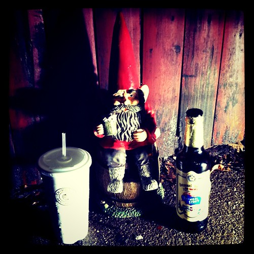 Jasper the Beer Gnome behind the scenes by thismeik