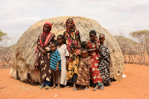 Halima Bare is struggling to feed her children