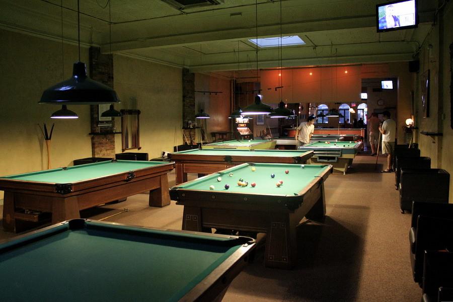 The Rivoli Pool Bar on Queen