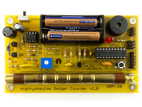 Geiger Counter Kit - Finished