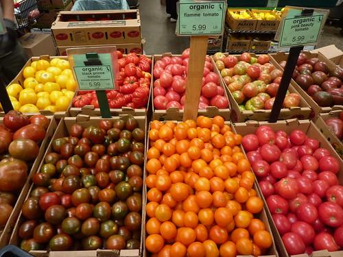 Tomates e variedades