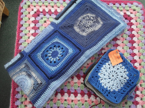 Coxabey (UK) Your Squares and 'Sunshine Blanket' have arrived! What a kind Lady making these for SIBOL! Wow! Gorgeous!
