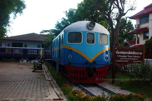 Chiang Rai Train Library