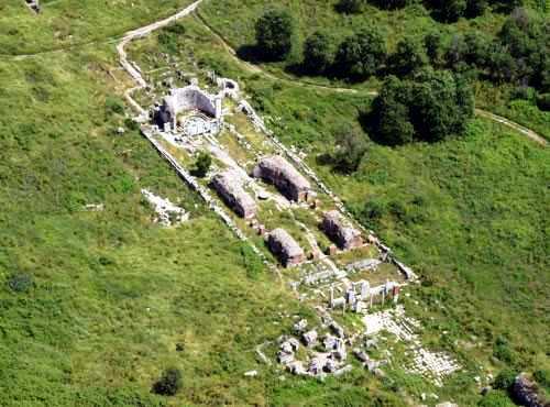 Ruinas de la Iglesia de la Virgen María en Efeso