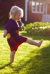 En ung Messi (2)