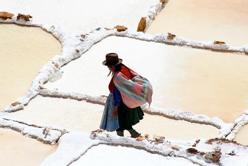 Maras Salt Mines, Peru