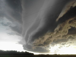 08071 Nebraska Supercell / Arcus / Shelf Cloud!