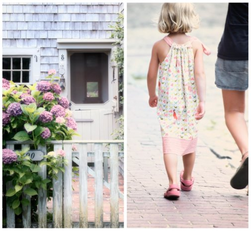 nantucket collage