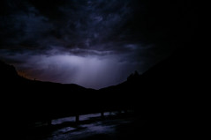 (Jiggs_) Tags: trees storm mountains hot newmexico nature silhouette night clouds landscape spring long exposure desert thunderstorm lightning 505 spence jemez 575