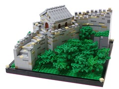 Great Wall of China (Matija Grguric) Tags: china lego landmark creation greatwall mutianyu greatwallofchina moc matijagrguric