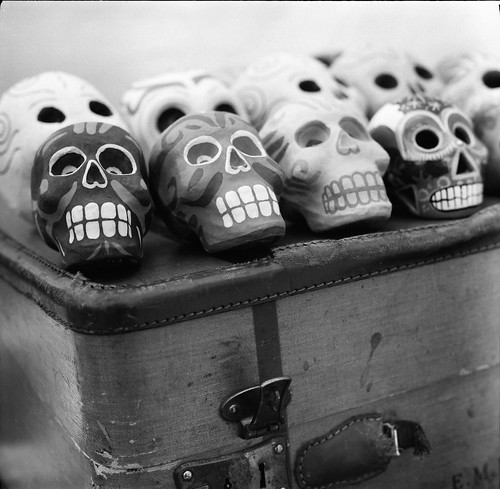Scenes from the market:  Skulls