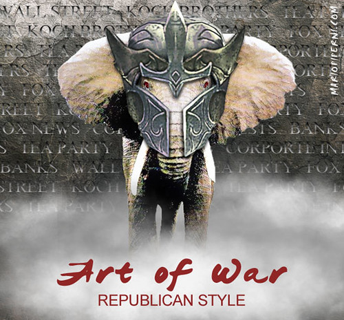 Republicans Art Of War