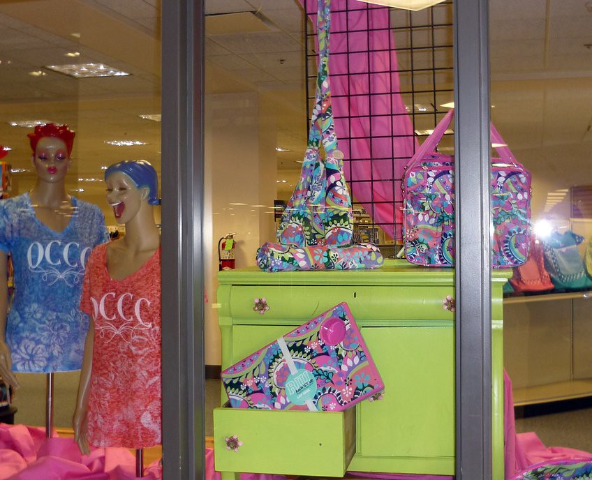 MBS Foreword Online - OCCC Bookstore Window Displays