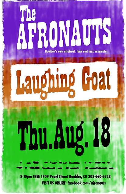 Afronauts live at The Laughing Goat Thursday August 18th, 2011