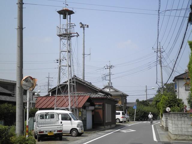 小室の火の見櫓(川越市)