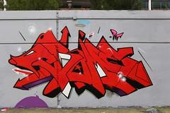 Crome (STEAM156) Tags: uk streetart london art graffiti travels photos artists walls rt represent crome stockwell steam156 wwwlondongraffititourscom
