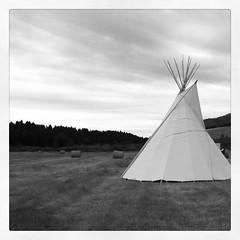 Montana teepee