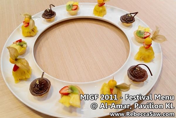 migf 2011 - Al-Amar Lebanese Restaurant