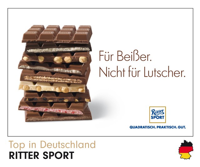 Ritter Sport Top in Deutschland Panini-Sammelbild