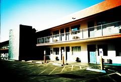 Las vegas Motel (VERY GIORGIOUS) Tags: city las vegas usa film lomo lca xpro lomography downtown cross nevada motel slide sin fabulous processed