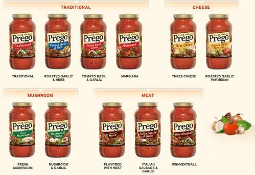 Prego(R) Classic Italian Sauces