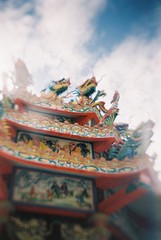 Dragon (HYST3) Tags: film 2ndroll kodakcolorplus200 receskytlr