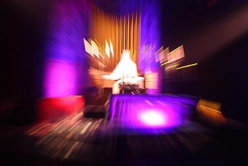 Ballroom organist