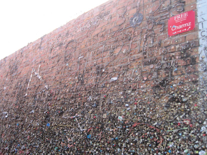 Gum alley, San Luis Obispo, California