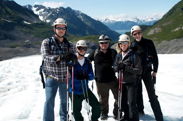 Glacier Ice Hiking