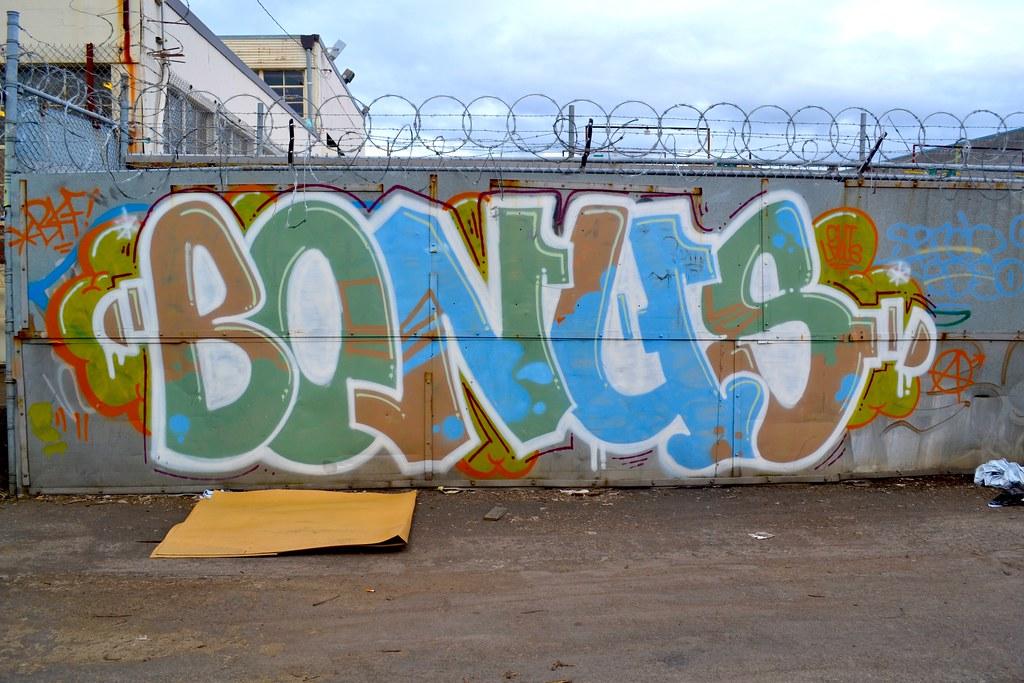 BONUS, BKF, Portland, Graffiti, Street Art