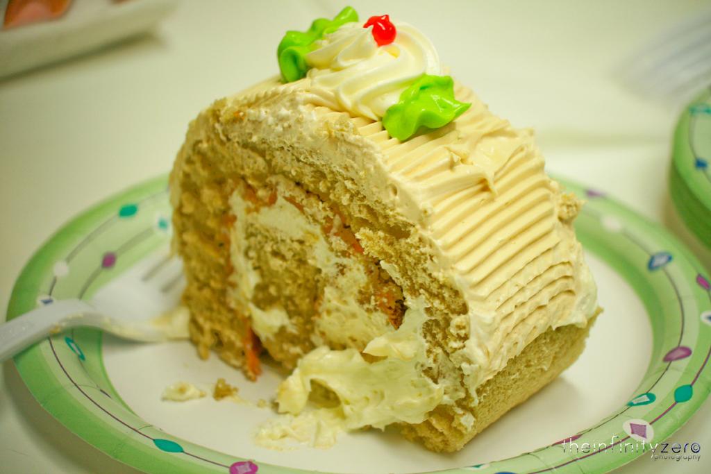 Goldilocks Mocha Birthday Cake