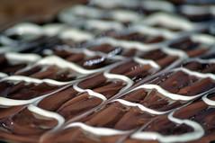 """It won't do to dream of caramel"" (Raynah Thomas) Tags: cake sweet chocolate caramel shortbread picnik baked millionairesshortbread hpad lumpygolightly hpad090711"