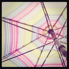 Vintage Polaroid umbrella