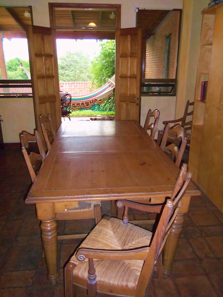 'Country French' OAK dining table