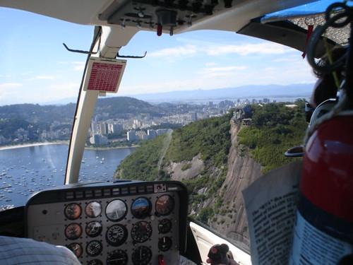 cabine helicóptero rio de janeiro
