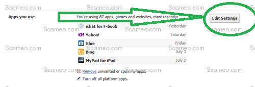 how to remove facebook spam