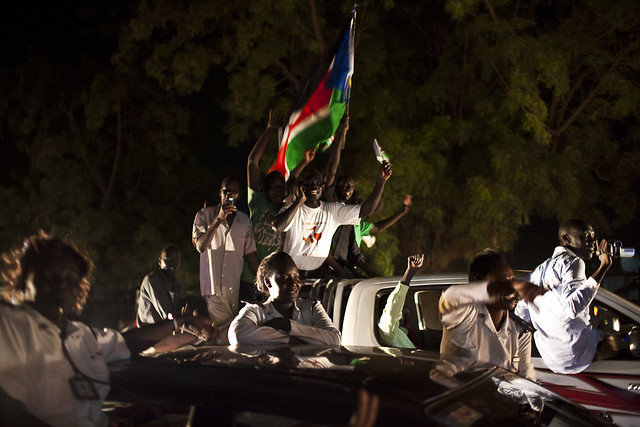 South Sudan independence celebrations by Conor Ashleigh