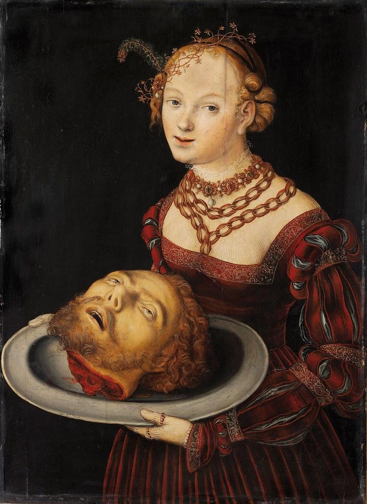 Lucas Cranach L'Ancien, Salomé (1526-1530)