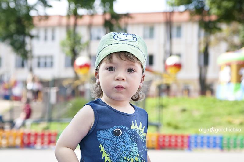 Кирюша. Фотосессия в парке развлечений
