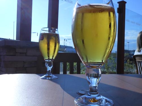 Beer, sunshine
