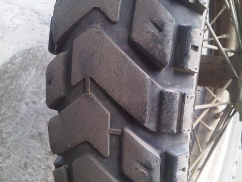 Rear K60 120-90-18 9900miles WR250R
