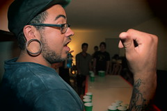 This Guy (//trevor) Tags: beer beard glasses cups vignette gages
