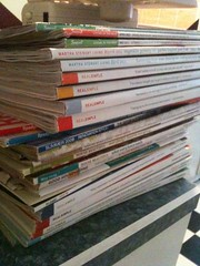 stack of magazines be gone