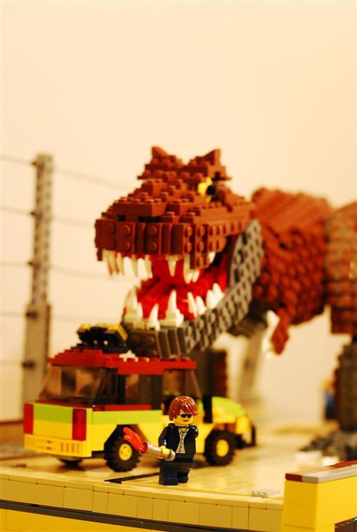 tyrannosaurus rex's  attack 2